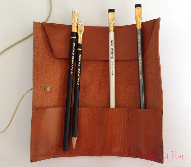 Review Paper Republic Le Porte Crayon Leather Pen Holder (1)