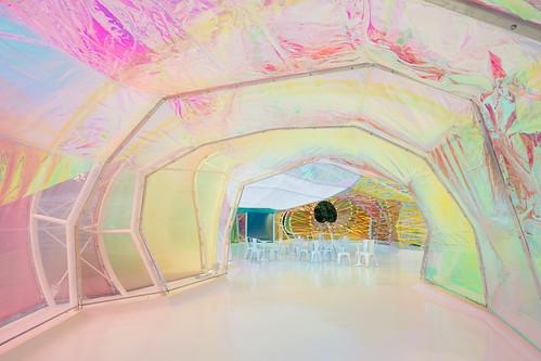 SelgasCano - Serpentine Gallery Pavilion 蛇形藝廊戶外展覽亭