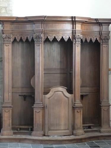 Confessionnal du 17e siècle