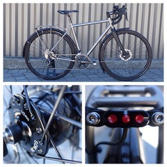 A @seven_cycles Evergreen SL for KD.   #sevencycles #tubus #supernova #son28