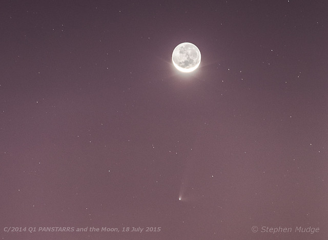 PANSTARRS Moon small