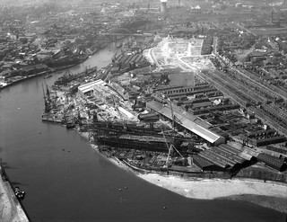 The North Sands Shipyard, Sunderland