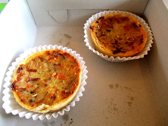 Aloha chicken quiche
