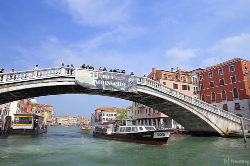 Venezia : Ponte degli Scalzi