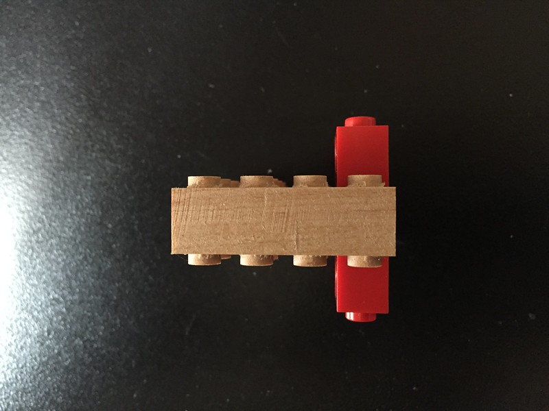 Lego Experiment: double studs