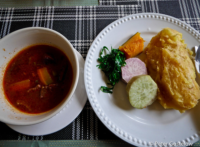 Ugandan lunch