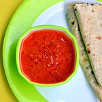 Tomato garlic chutney recipe