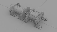 sketch(0.0), drawing(0.0), aircraft engine(0.0), machine(1.0), cylinder(1.0), 3d modeling(1.0),