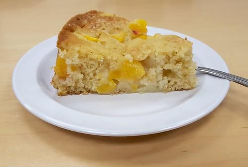 Peach Buttermilk Cake