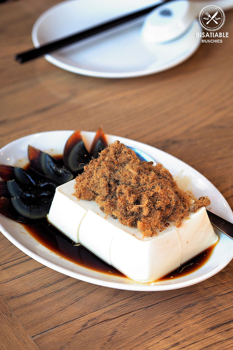 Sydney Food Blog Review of Din Tai Fung, Central Park: Silken Tofu with Pork Floss and Century Egg