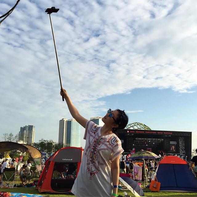@curlyu is selfieeeeng #pentaport #rock #festival #2015