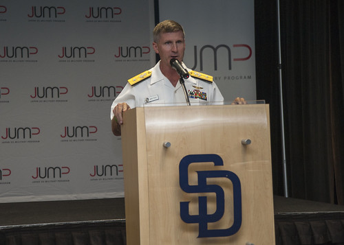 San Diego Area Sailors Attend JUMP Event at Petco Park