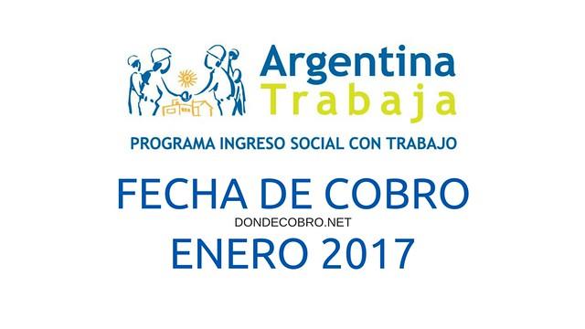 fecha de cobro de argentina trabaja en enero