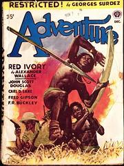 Adventure Magazine Vol. 118, No. 2 (Dec., 1947). Cover Art is Uncredited