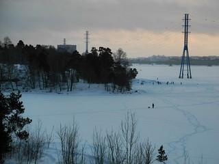 On the ice in Helsinki