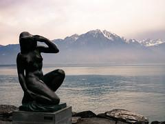 Statue, Montreux