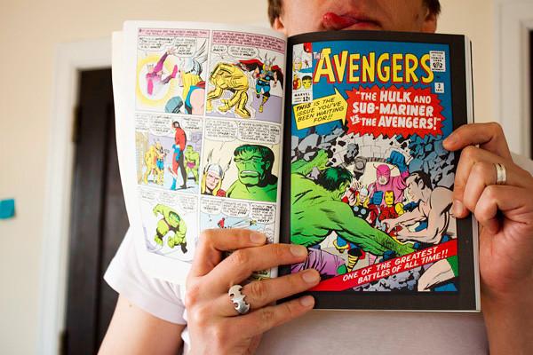 Avengers comic 2