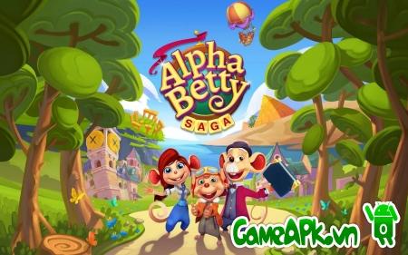 AlphaBetty Saga v1.1.9 hack full cho Android