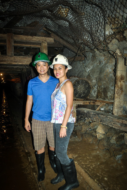 Miners for a day