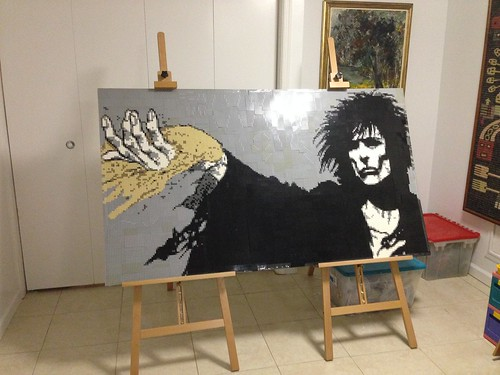'The Sandman' LEGO Mosaic
