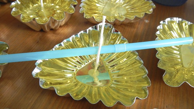 Floating Citronella Candles 12