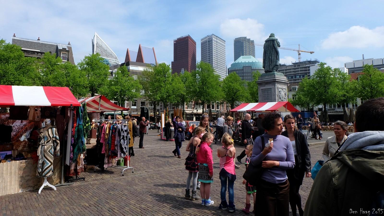 Sunday Market on Plein, Den Haag, Nederland