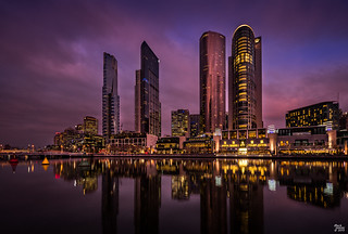 Crown Complex and Eureka Tower