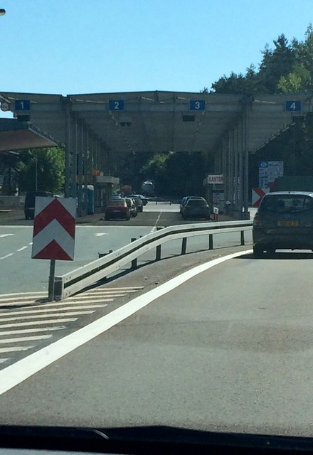 The old East Germany / Poland border