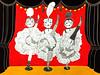 Les danseuses de cancan by studio.sonnim