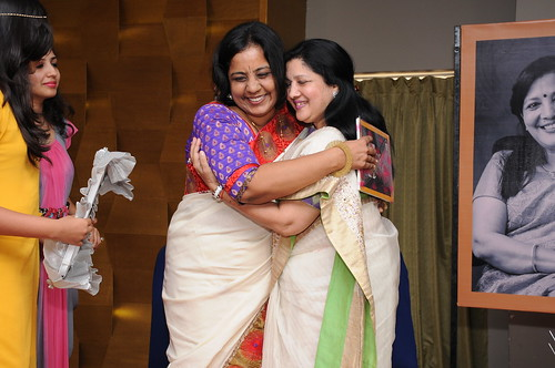author Pratibha Jain & foodie Indu Bokaria