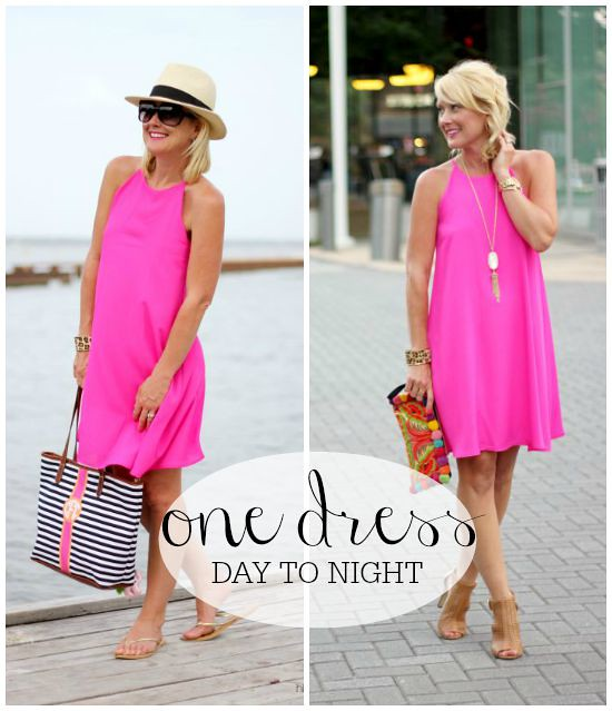 Hi Sugarplum | Pink Dress: Day to Night