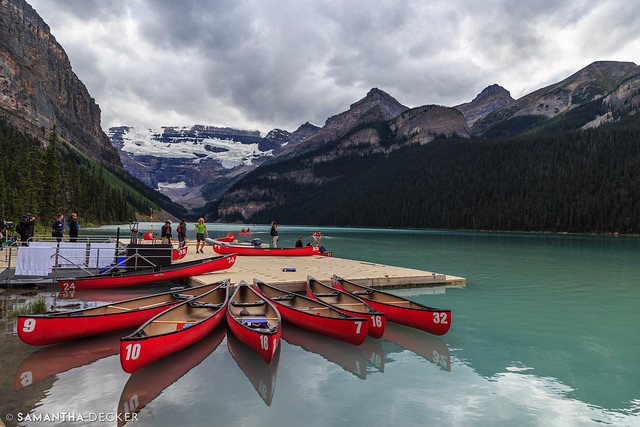 The Boat Dock on Lake Louise