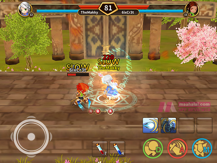 LINE Dragonica Mobile Pet PvP League