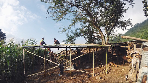 Sole Sister Emma building-homes- nepal