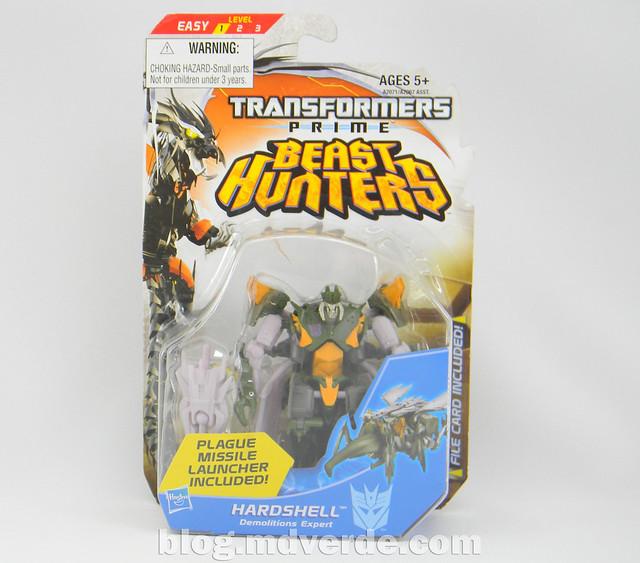Transformers Hardshell Cyberverse - Transformers Prime Beast Hunters - caja