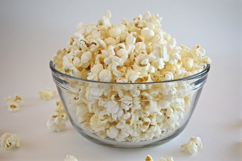 air-popped corn