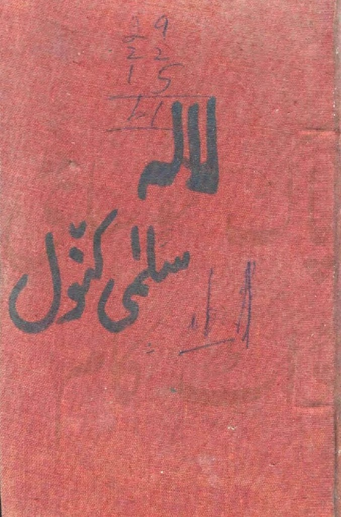 Lala is a very well written complex script novel by Salma Kanwal which depicts normal emotions and behaviour of human like love hate greed power and fear , Salma Kanwal is a very famous and popular specialy among female readers