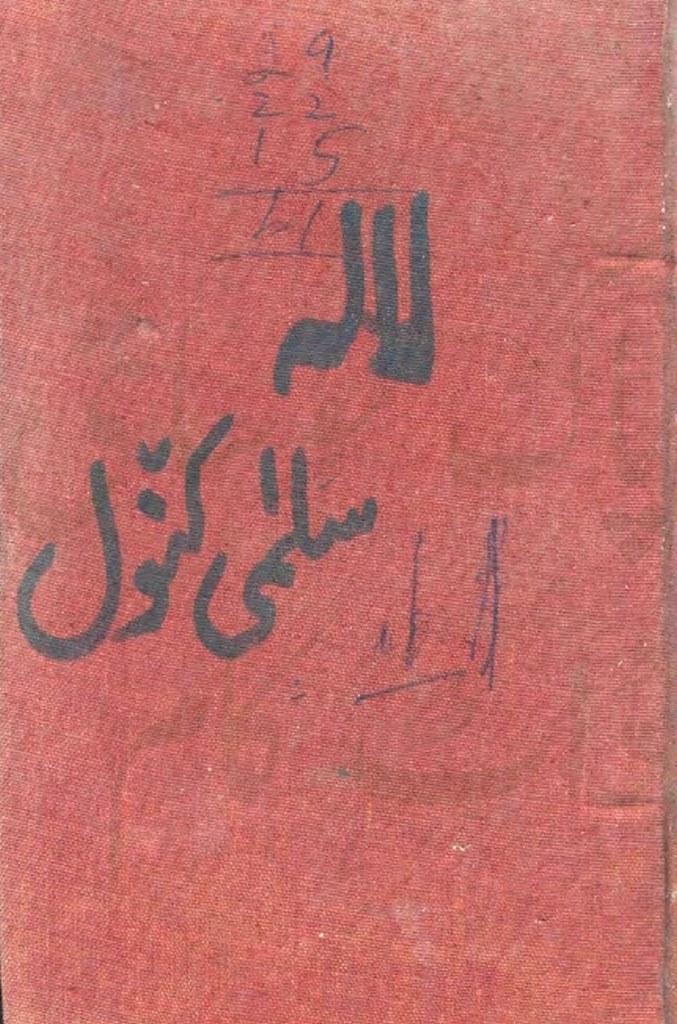 Lala Complete Novel By Salma Kanwal