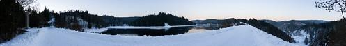 Ködeltalsperre Panorama