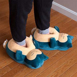 邊走邊打鼾,肚皮好柔軟!Pokémon Snoring Snorlax Slippers 卡比獸打鼾拖鞋