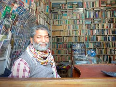 Kathmandu, Paradise Books owner