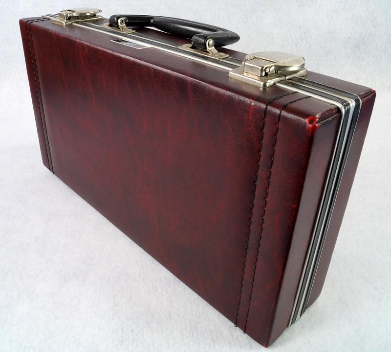RD12878 Vintage Savoy 24 Cassette Tape Case Haverhill, MA with Bonus Tapes DSC08102