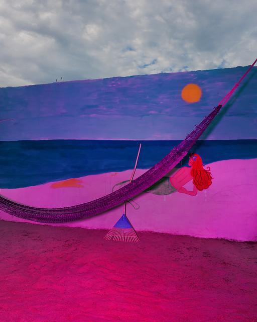 Murale, Playa azul, Salina Cruze, Mexico, 2016
