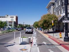 West Broadway Bike Lane