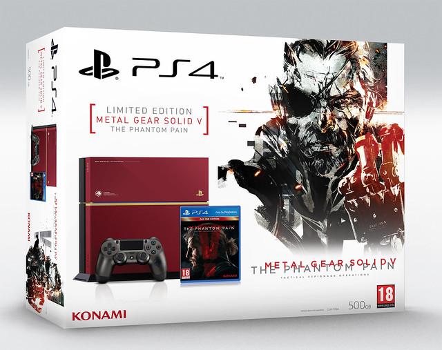 Лимитированное издание PS4 Metal Gear Solid V: The Phantom Pain