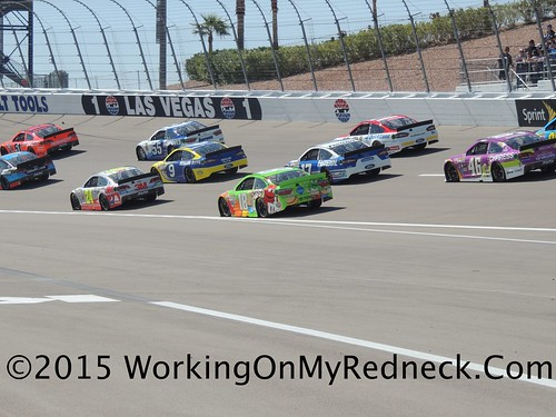 Turn 1 LVMS action
