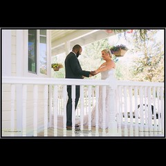 First Look. Marc and Kelly had their private estate ranch wedding on June 14, 2015 in Santa Clarita CA.