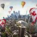 Celebrating Canada Day on Toronto Planet by Katrin Ray