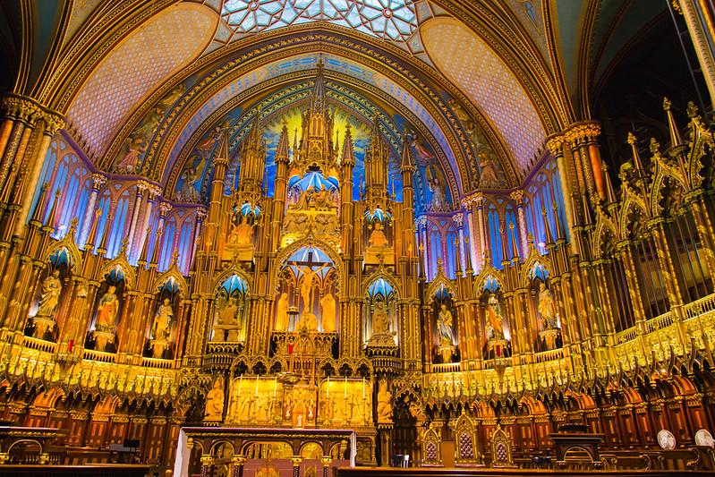 Basilica de Notre Dame, Montréal