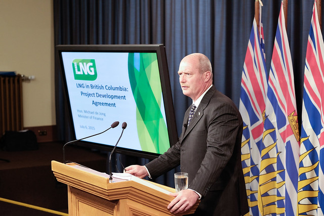 Province releases first LNG Project Development Agreement